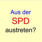 Aus der SPD austreten?