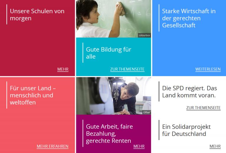 SPD Standpunkte