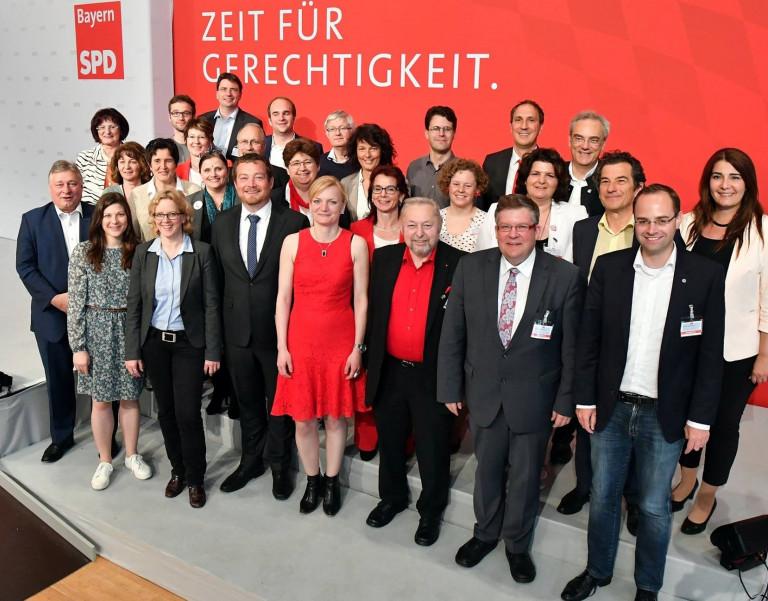 Viereinhalb Niederbayerinnen im neuen bayerischen SPD-Landesvorstand